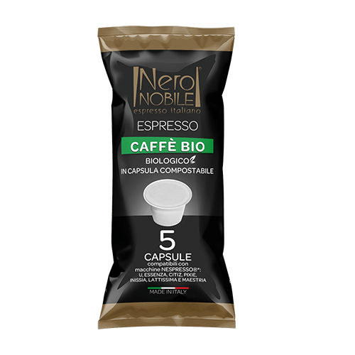 Capsule Compatibili Nespresso Caffè Bio