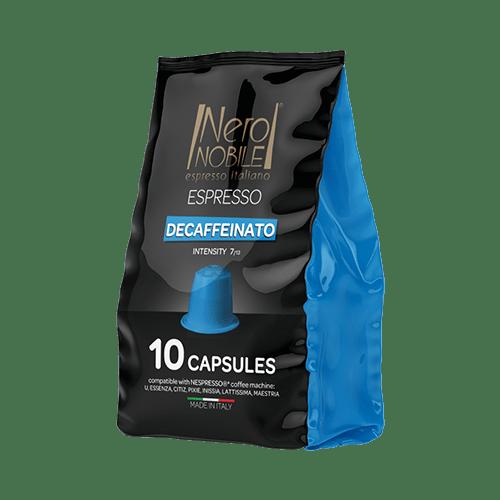 Capsule Compatibili Nespresso Decaffeinato