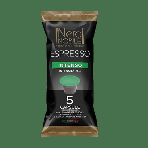 Capsule Caffè Nespresso Intenso