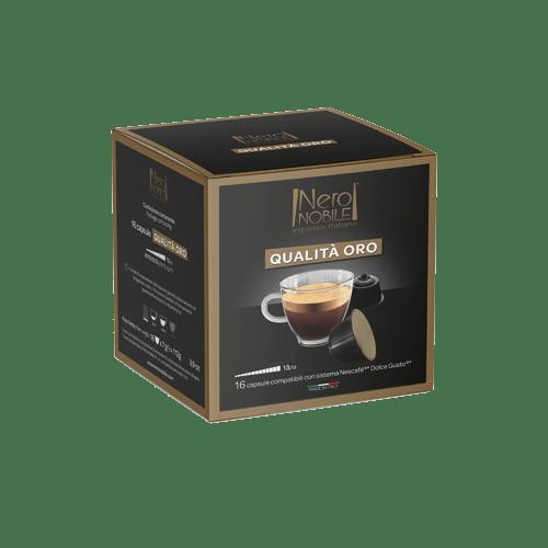 Capsule Compatibili Dolce Gusto Qualità Oro - NeroNobile