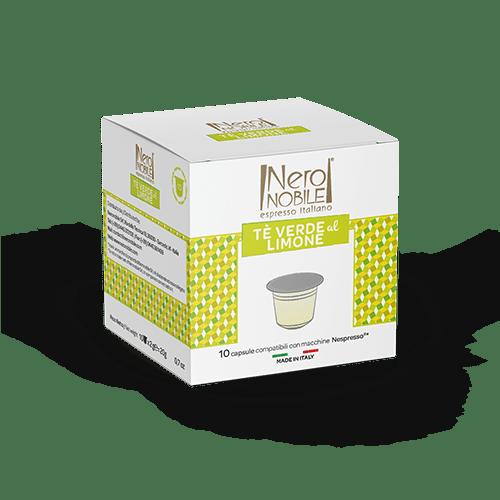 Tè Verde al Limone Capsule Compatibili Nespresso