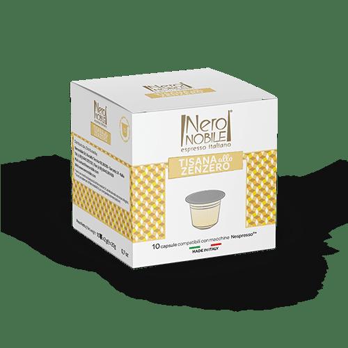 Capsule Compatibili Nespresso - Tisana allo zenzero