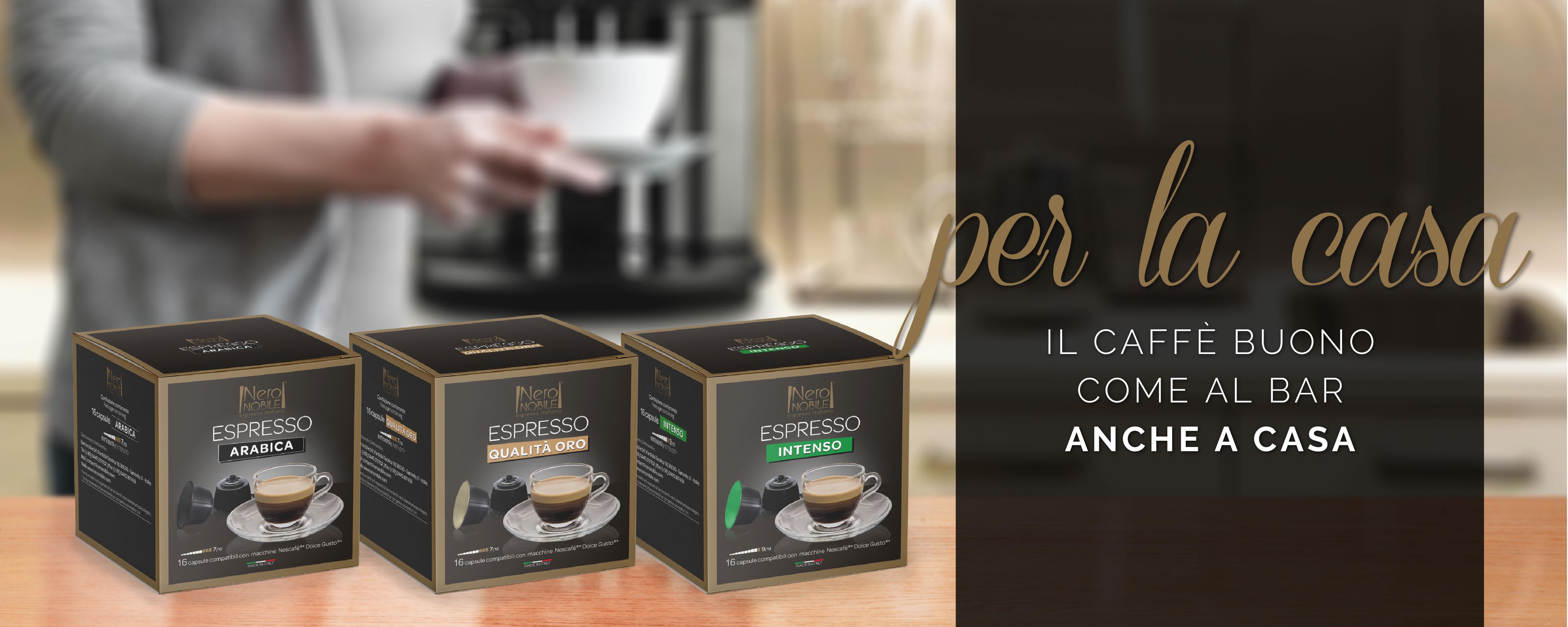 Per la casa - Caffè in capsule e macinato
