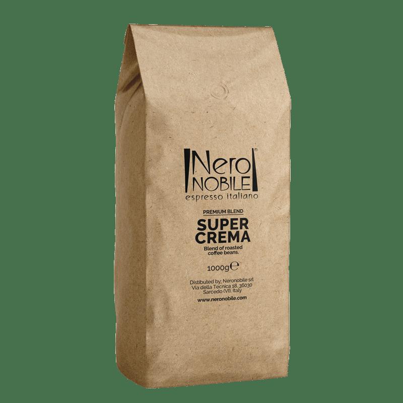 Super Crema - Caffè in grani - NeroNobile
