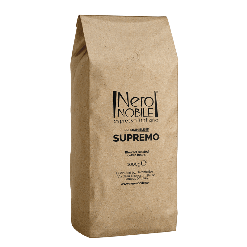 Supremo Caffè in grani - NeroNobile