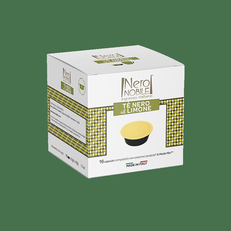 Tè Nero al Limone - Capsule Compatibili A Modo Mio