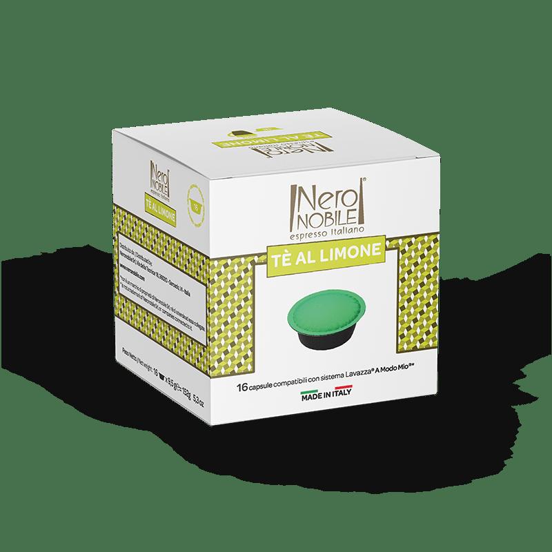 Tè al Limone Capsule Compatibili A Modo Mio